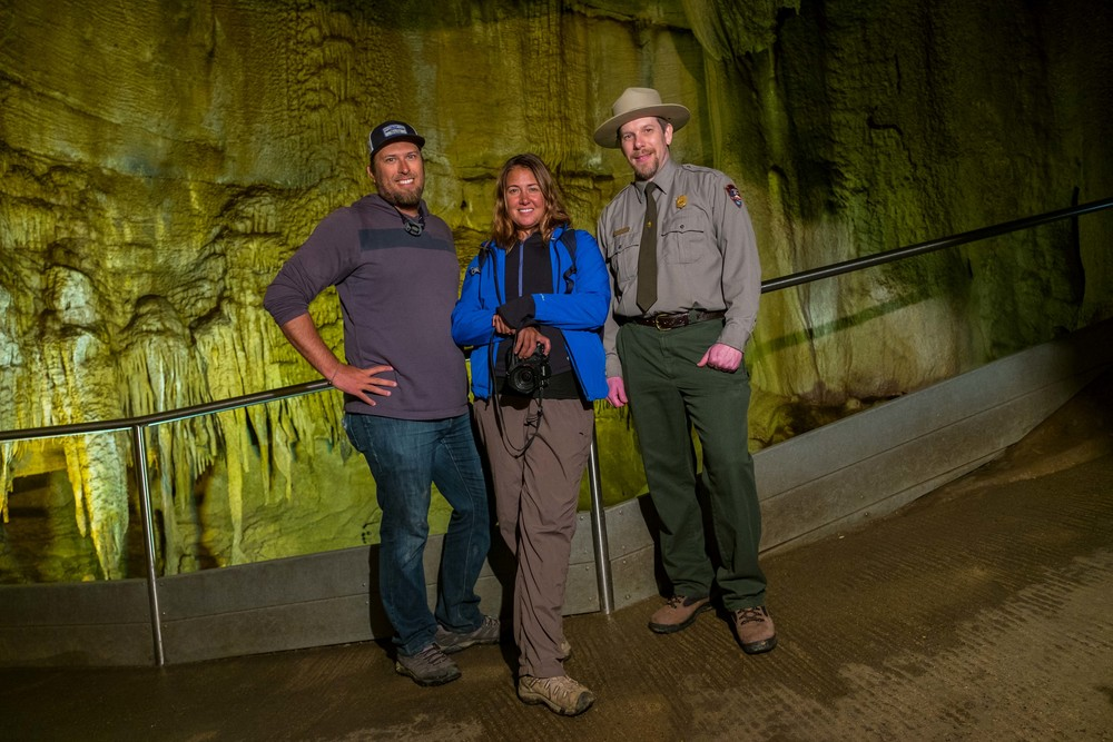 Stef, myself, and our new friend, Ranger Jackie. Thanks for showing us a place you love, Ranger Jackie!