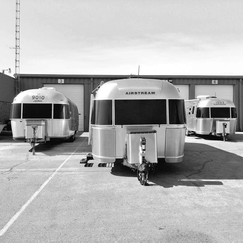 At Airstream Headquarters in Jackson Center Ohio.