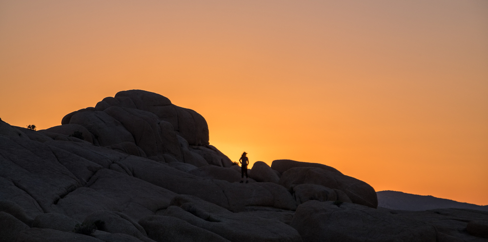 The sun sets on yet another great day in Joshua Tree.