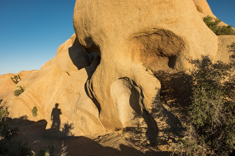 Homer Simpson, er, Skull Rock.