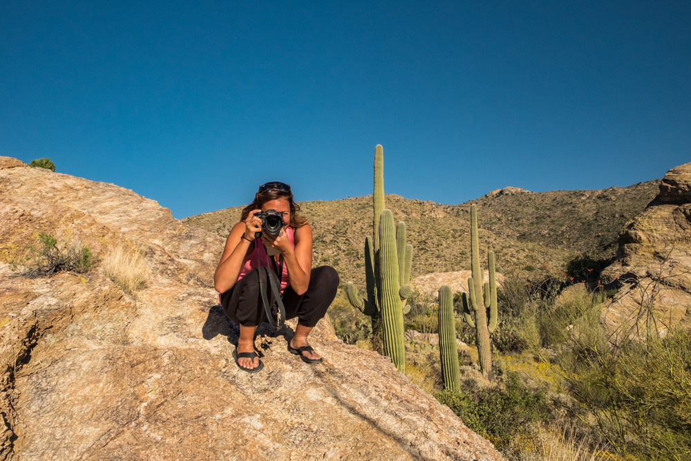 Javelina Rocks is a great place to explore and watch the sunset.