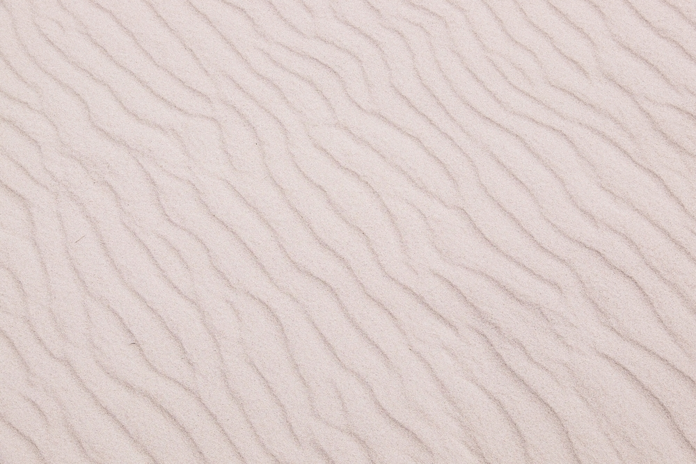Windblown sand at Petrified National Park in northern Arizona.