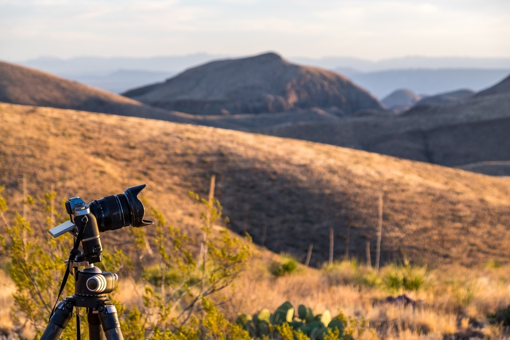 Fujifilm X-T1 in Big Bend National Park in Texas.