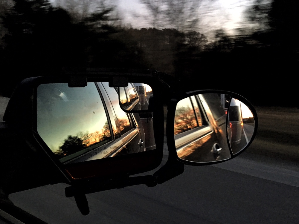 So much in the rearview...