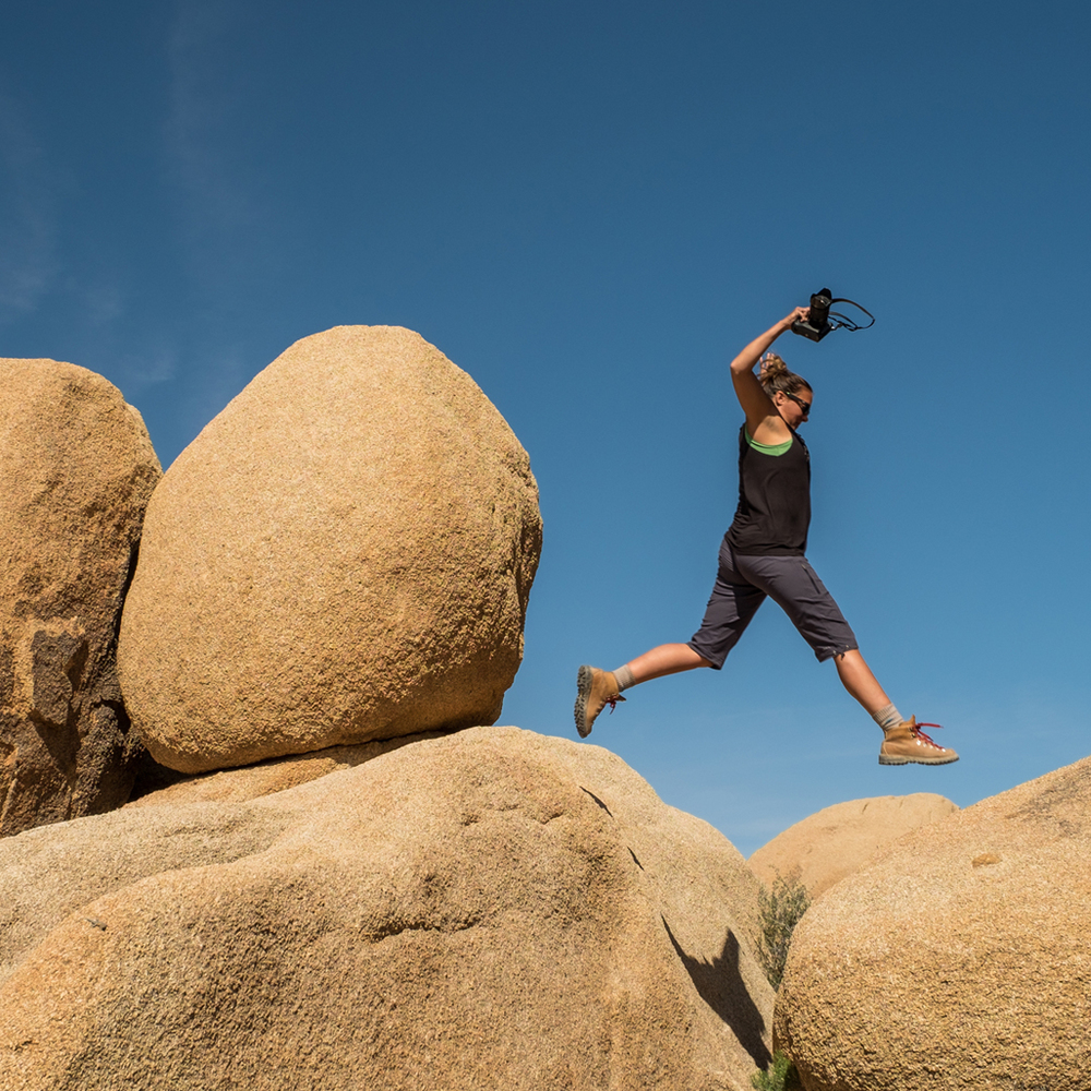 Stef's Fujifilm X-T1 goes with here everywhere! Such as Joshua Tree National Park in sunny California.