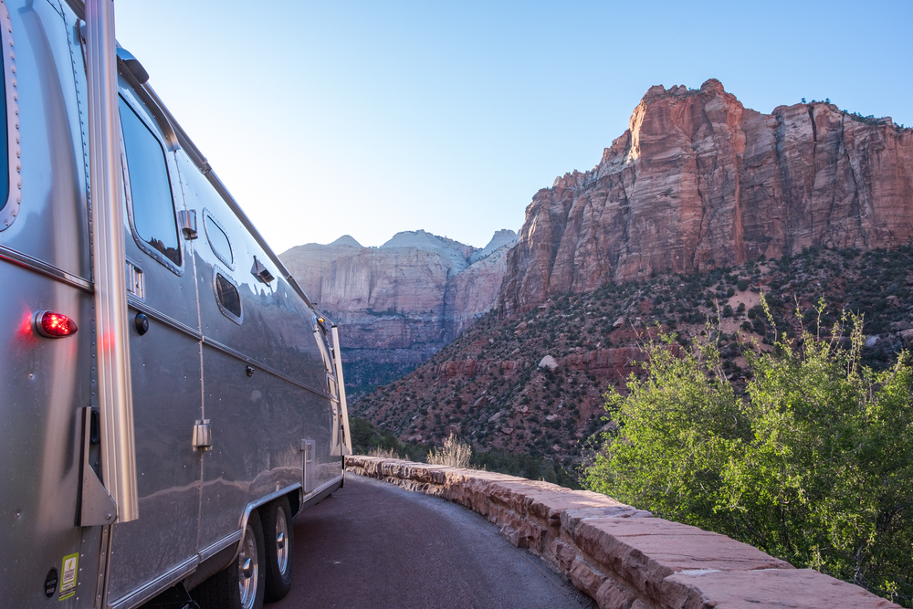 The Zion-Mt. Carmel Highway is the ultimate for road trippers.