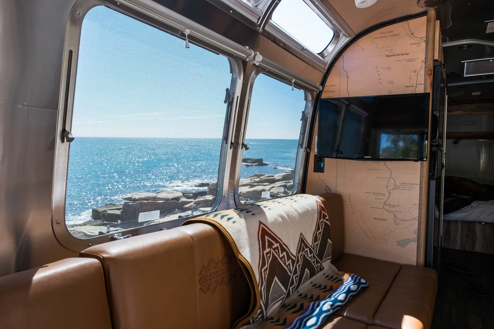 The Pendleton Airstream does what an Airstream does best -- brings the outside in.