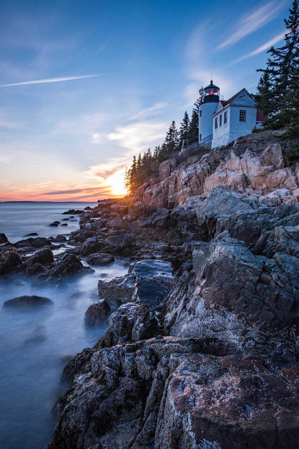 We had to make a second trip to Bass Harbor Lighthouse, it is that spectacular.