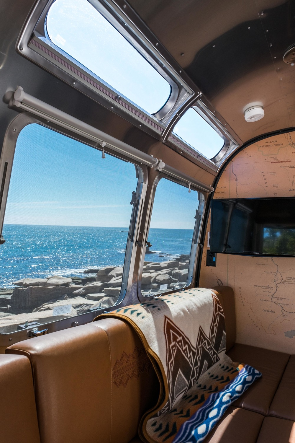 The Pendleton Limited Edition National Parks Airstream brings the outside world in...