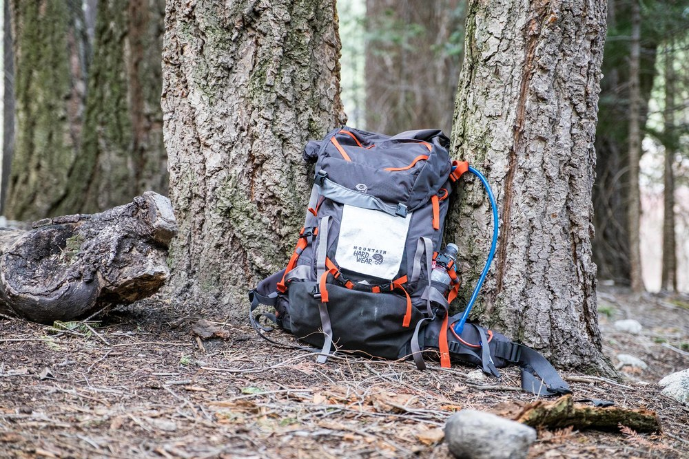 Our backcountry adventures are made possible by our incredible Mountain Hardwear backpacking gear!