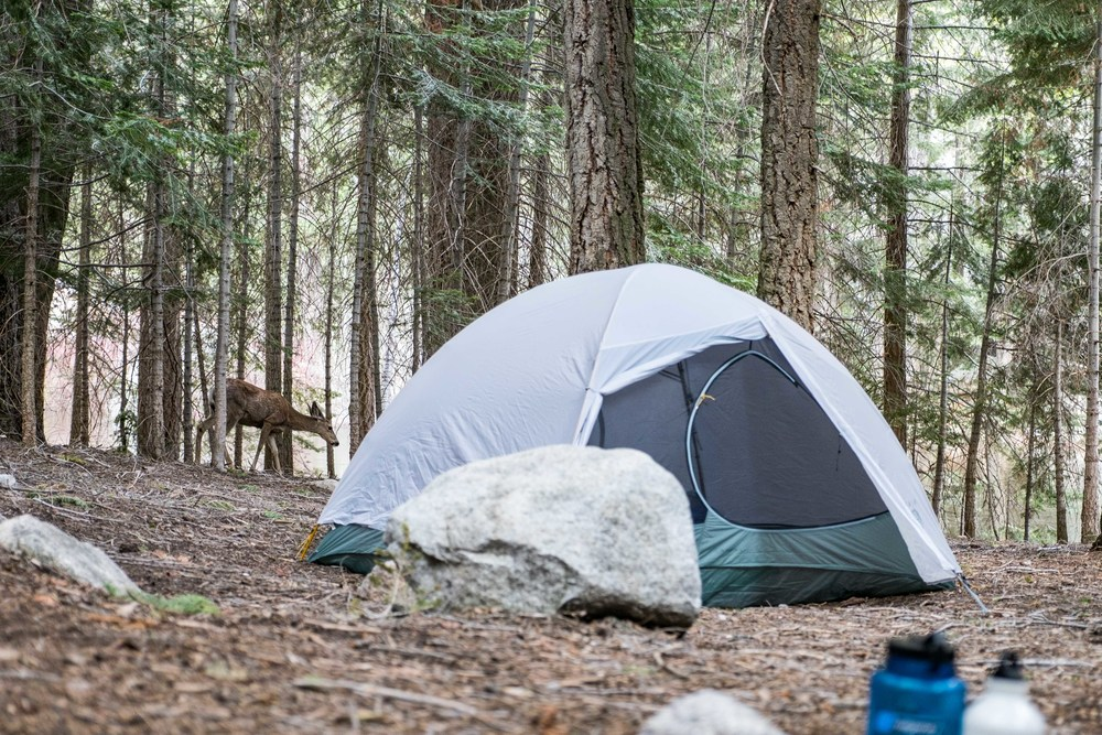 The Mountain Hardwear Ghost Sky 2 tent is badass.