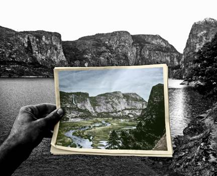The Hetch Hetchy Valley in Yosemite National Park before and after the Raker Act was passed. Courtesy Restore Hetch Hetchy.