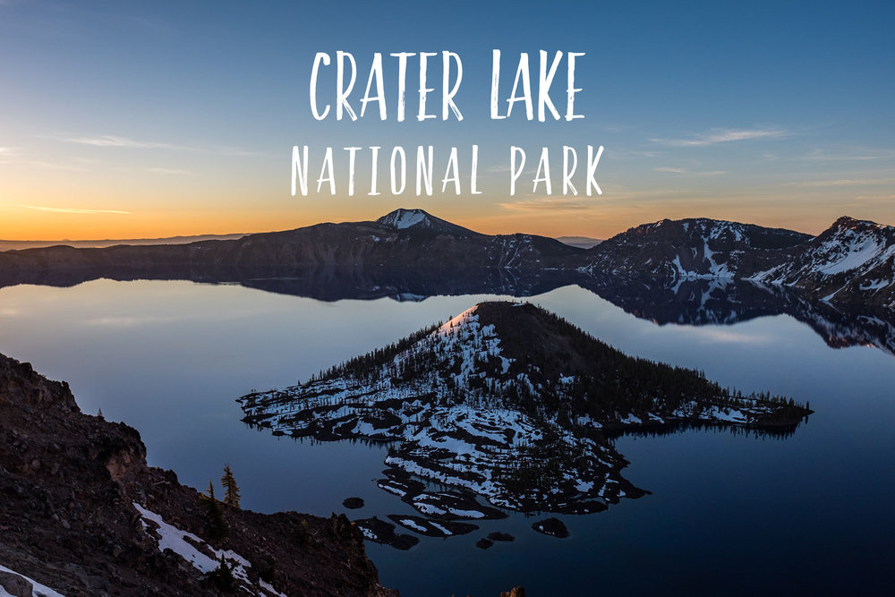 Park 26/59: Crater Lake National Park in Oregon