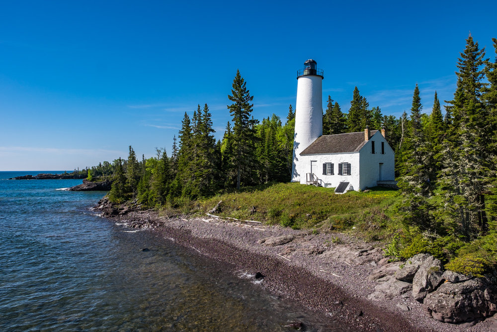The Isle Royale Lighthouse makes for a great half day visit.