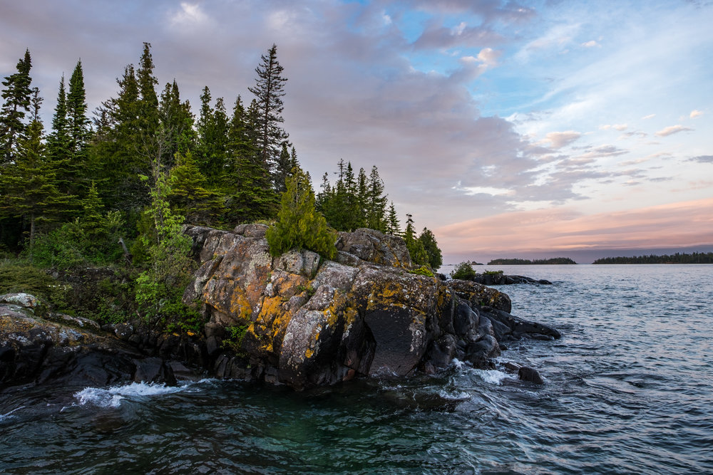 Isle Royale National Park in Michigan is one of the least visited national parks in the U.S., and the most revisited... it is wild, untamed, and in the middle of Lake Superior -- completely isolated and wonderful.