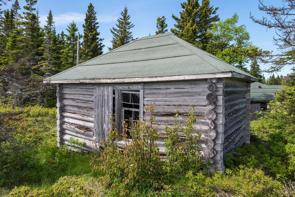 Just a random abandoned house nestled somewhere in the wilderness on Isle Royale. Let's just say that peering through the windows for what was left behind was awesome!