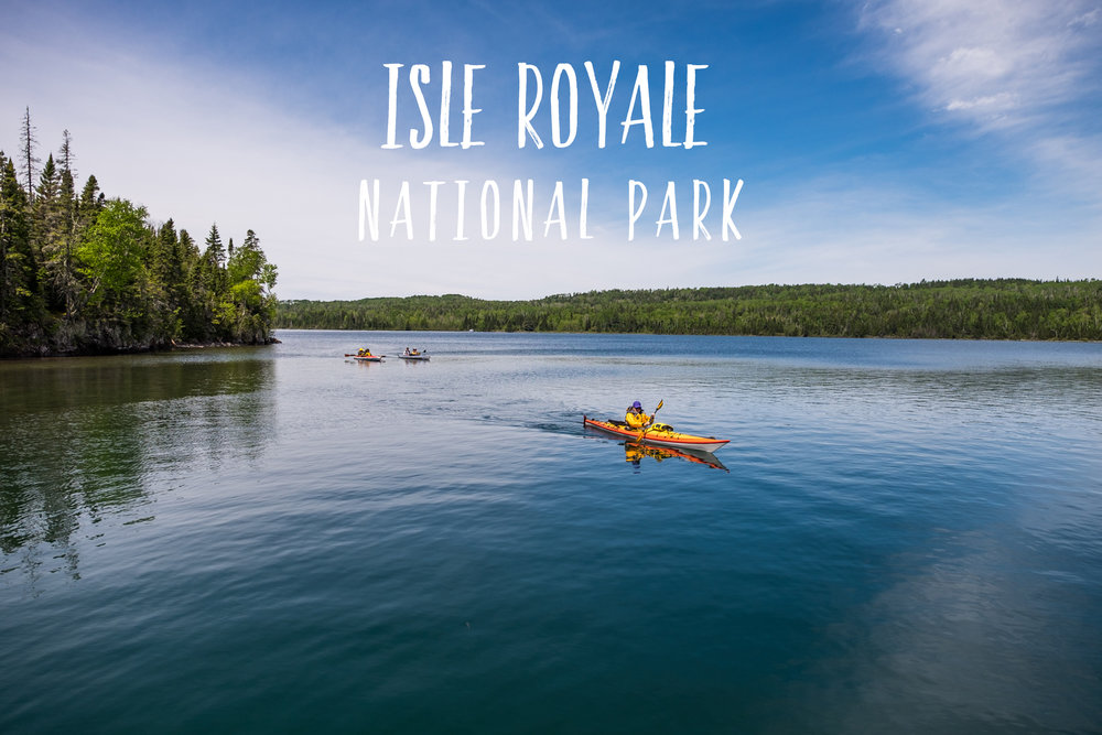 Park 28/59: Isle Royale National Park in Michigan