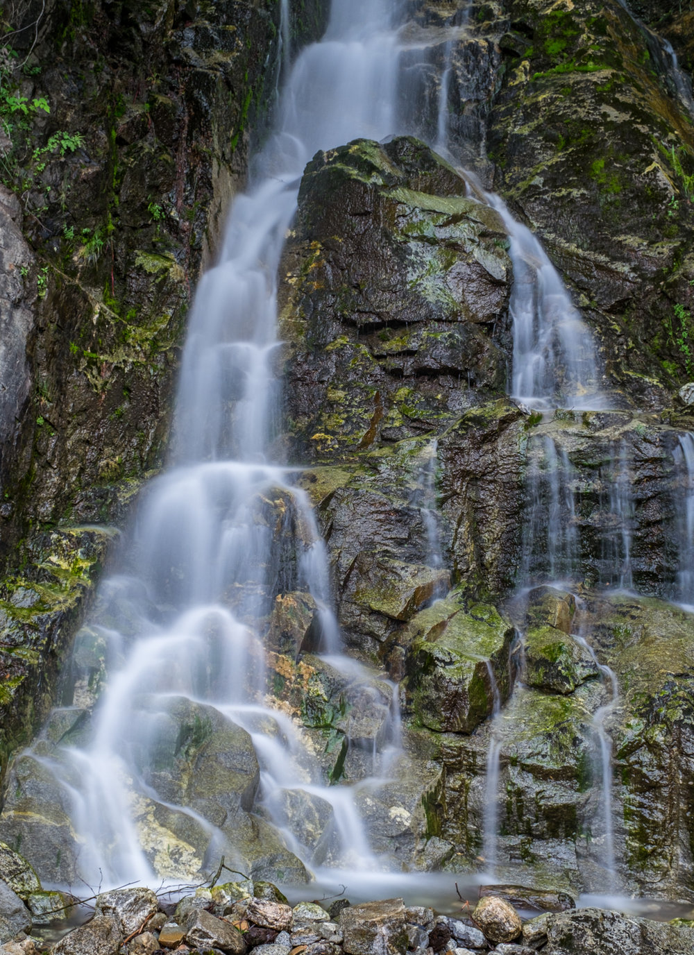 Just one of what seems like a million waterfalls that can be found in and around North Cascades National Park.