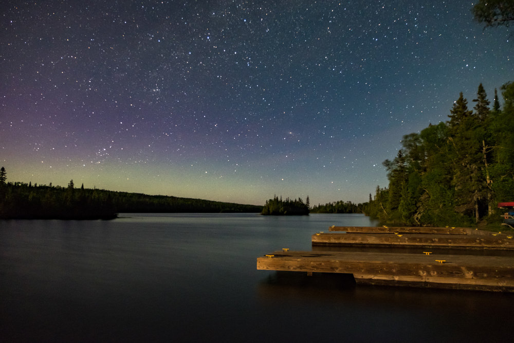 Star stuff in Isle Royale in Michigan.