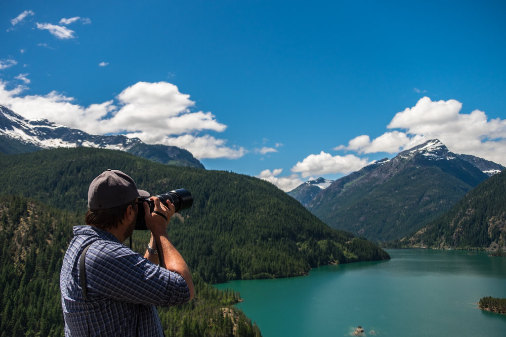 Capturing North Cascades National Park in Washington.
