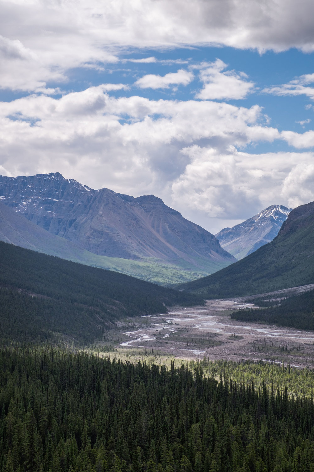 Rugged beauty aligns the entire path along the Alaska Highway.