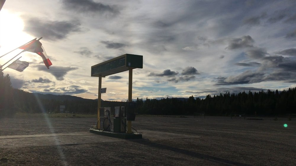 Desolation in the Yukon Territory.
