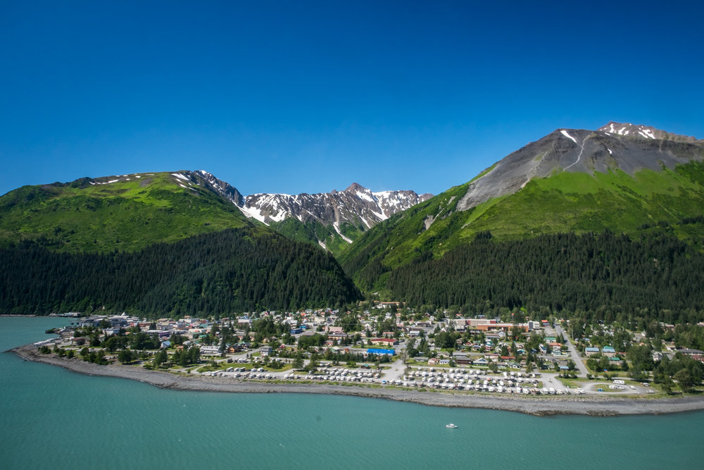 The waterfront community of Seward, Alaska is your jumping off point into Kenai Fjords National Park.
