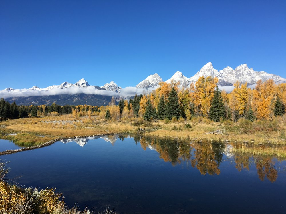 Grand Tetons National Park in Wyoming in the fall. Photo credit: Stefanie Payne