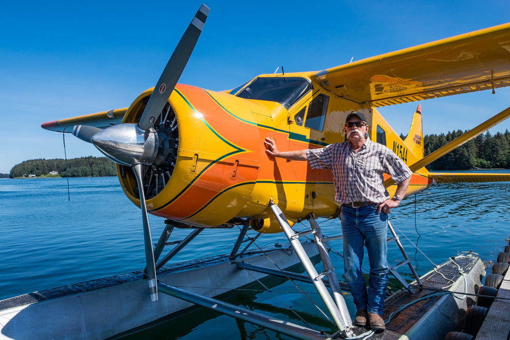 Willy Fulton with Andrews Airways, one of the best pilots in all of Alaska!