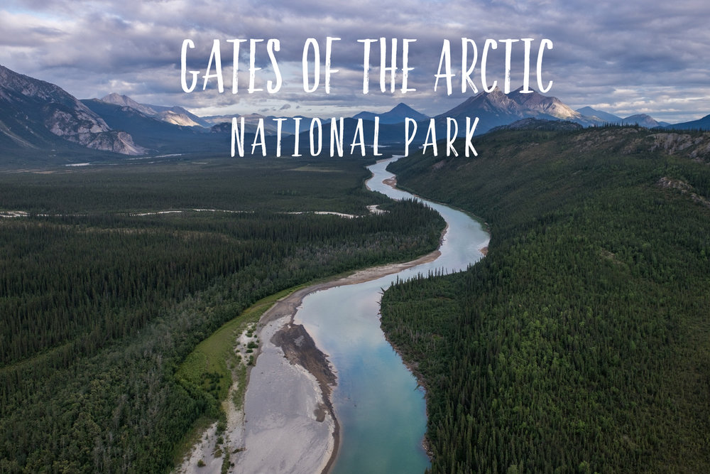 Park 35/59: Gates of the Arctic National Park and Preserve in Alaska