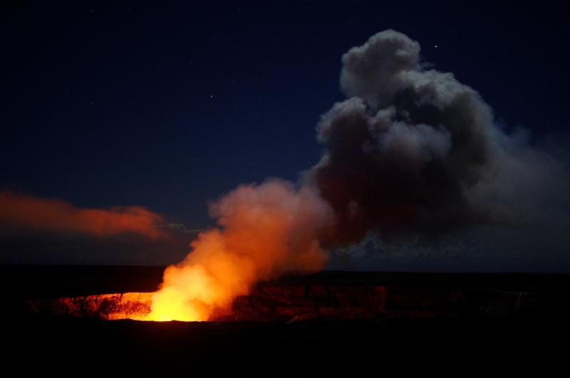 Volcanoes National Park in Hawaii. (Image credit:   NPS.gov  )