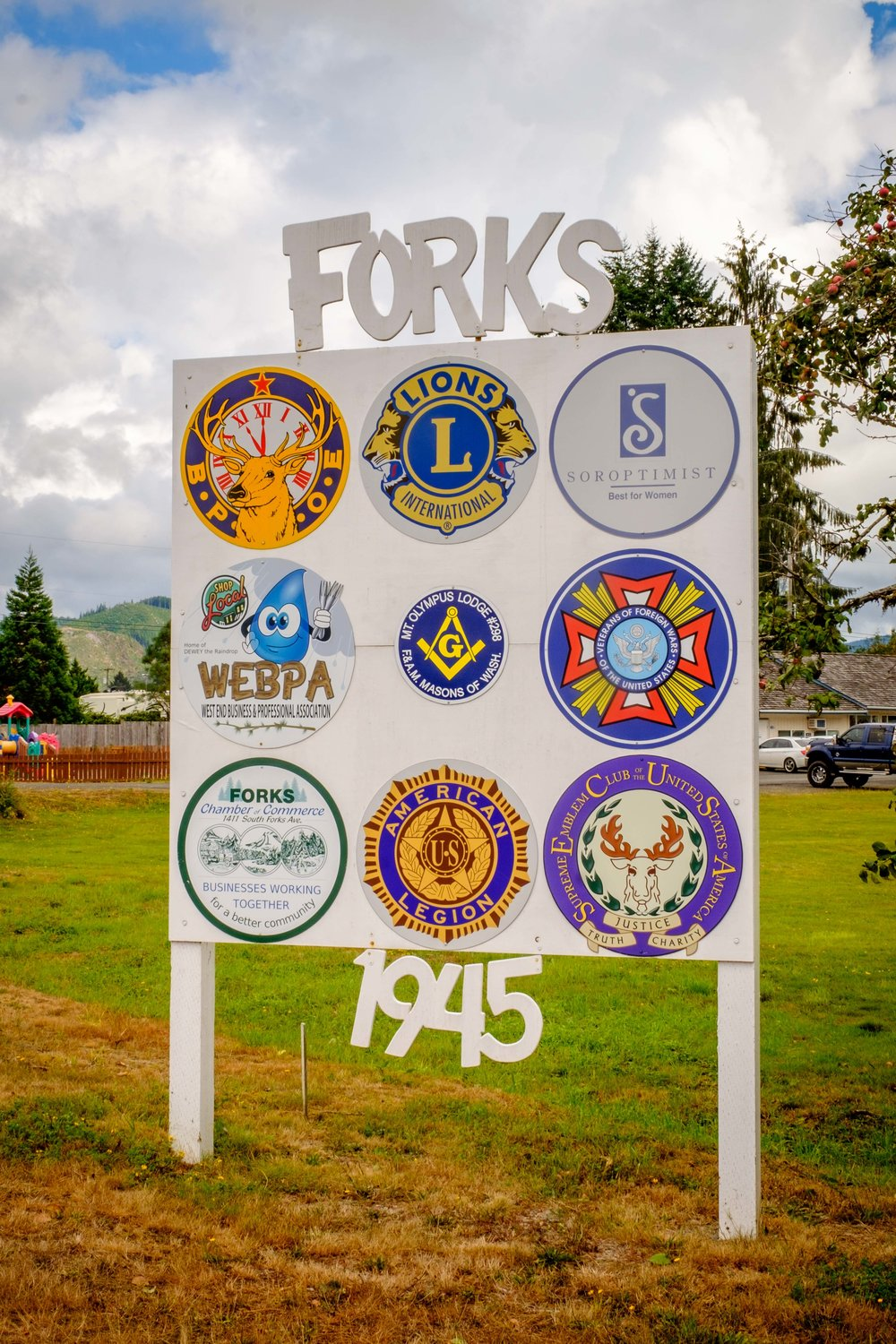 Forks! Where the vampires live. :)