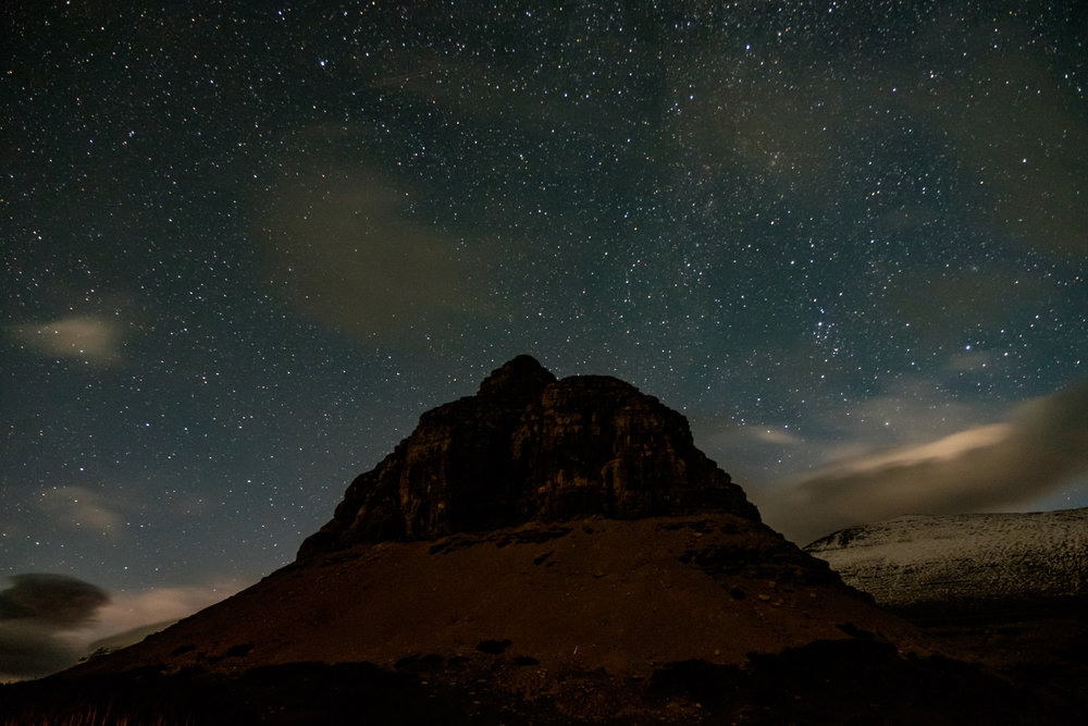 Glacier is a designated dark sky park, so the stars are amazing....especially at Logan Pass.