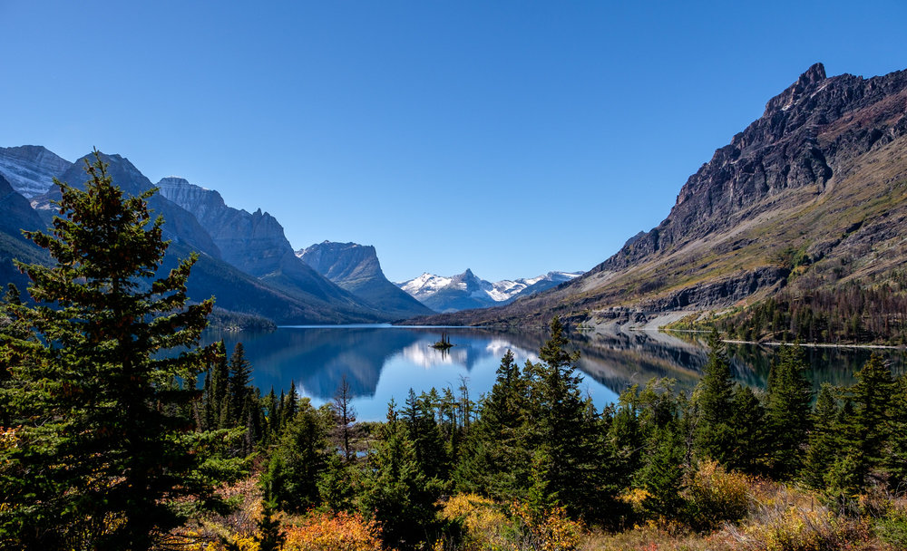 Wild Goose Island Overlook is one of the most iconic vistas in all of the US National Parks.