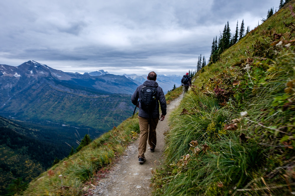 Glacier hiking is full of epic views. It's one of the great hiking parks in the system.