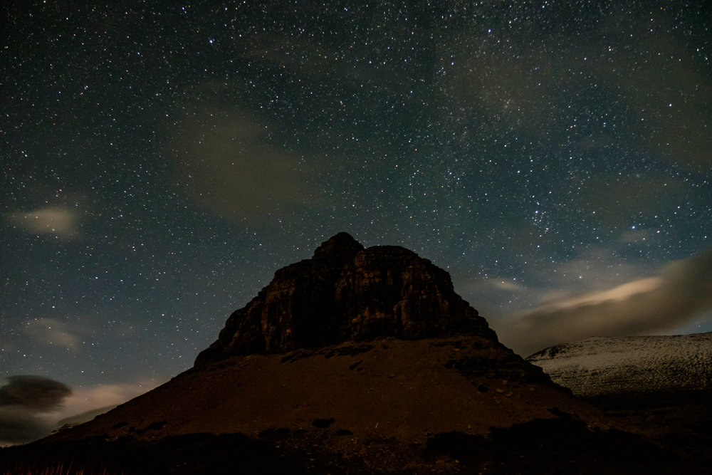 Glacier National Park in  Montana  and neighboring Waterton Lakes Park in Canada are in the running together to become the first multi-national dark sky preserve. Fingers crossed!