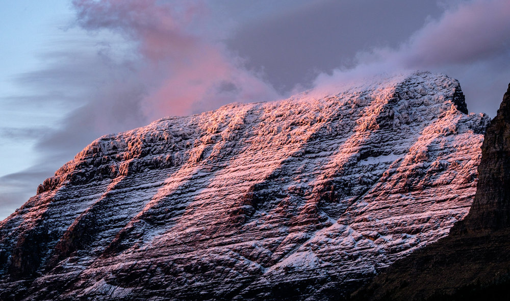 Some of the most mesmerizing mountain-glow ever exists in this part of the world.