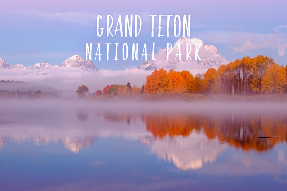 Park 42/59: Grand Teton National Park in Wyoming