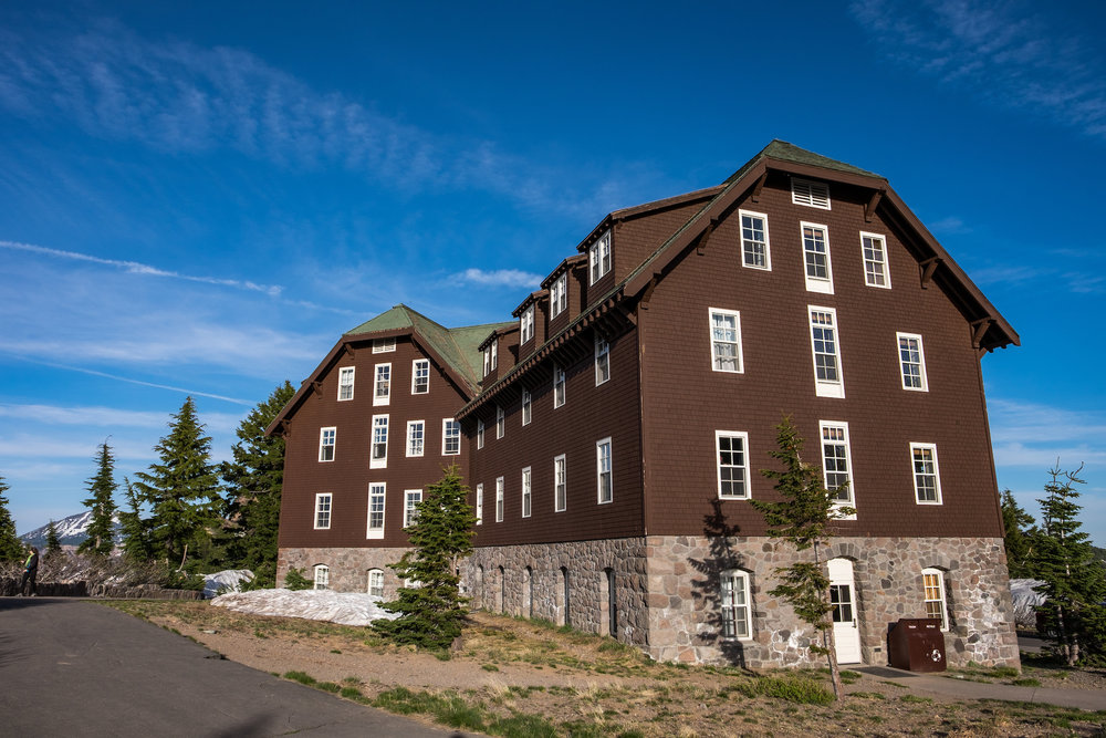 The Crater Lake Lodge is a classic National Park lodge.