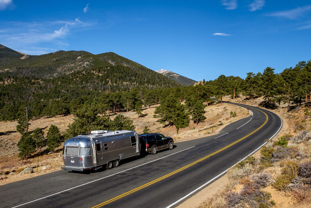 Wally, our beloved Airstream, quickly caught the Rocky Mountain High fever.