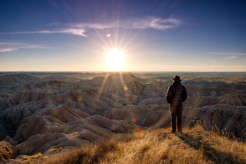 Some of the most inspiring Badlands scenes were along random pullovers on the Sage Creek Road.