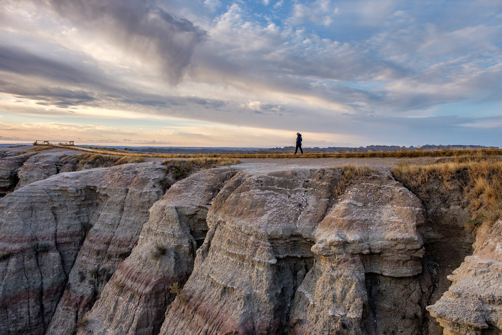 """Badlands"" = a national park. ""badlands"" = a geologic formation."