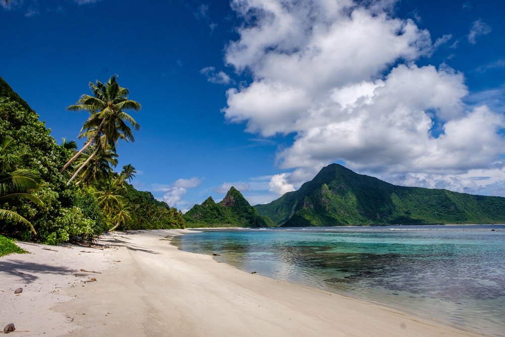 Perfection at Ofu Beach on the island of Ofu in American Samoa. Shot with FUJIFILM X-T1.