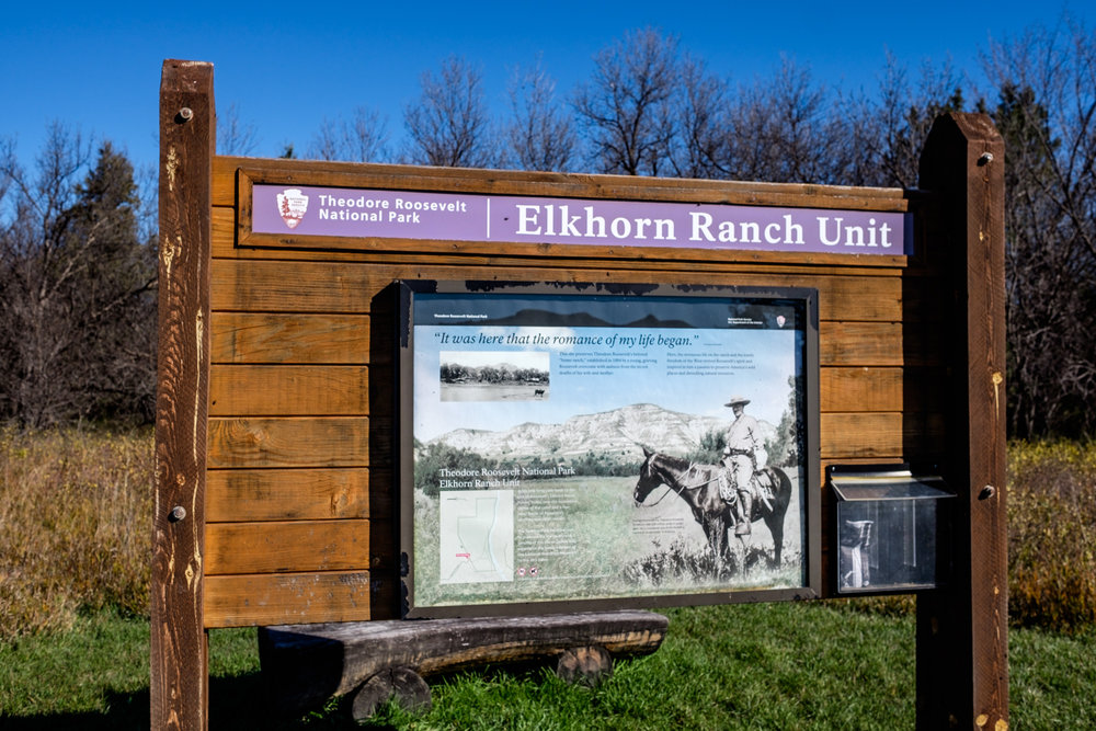 Our last stop at Teddy Roosevelt National Park is where Teddy made his home at Elkhorn Ranch.