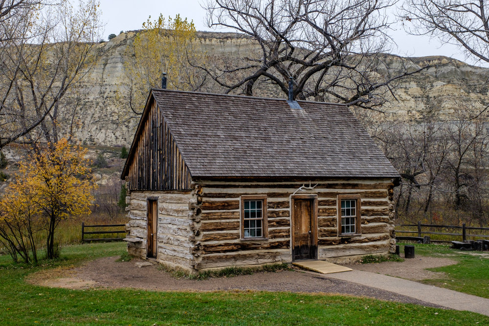 A year after his first visit in 1883, he invested $14,000 in the Maltese Cross Cabin, where he lived briefly before he built Elkhorn Ranch.