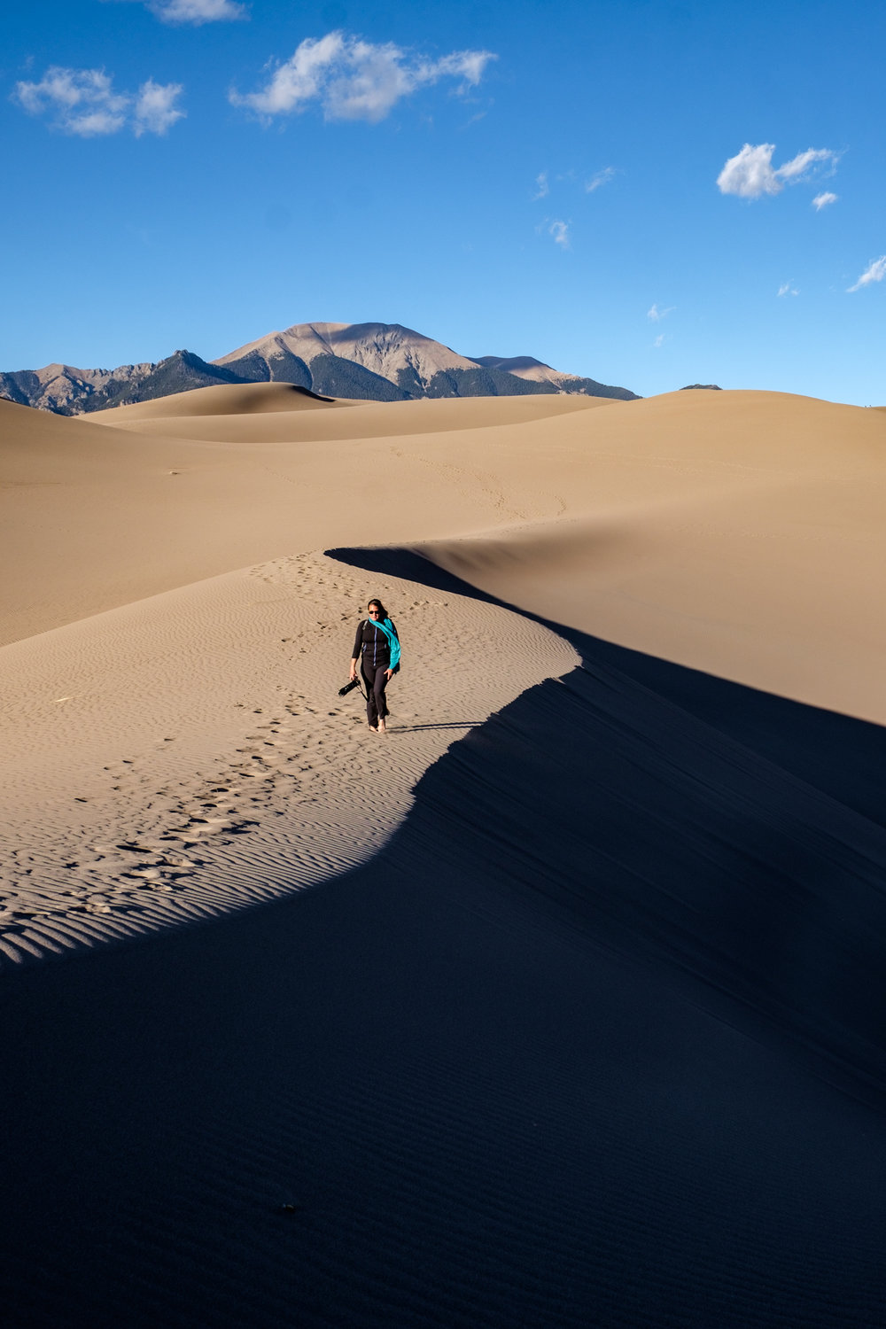 You could walk for days (weeks?) on the dunes.