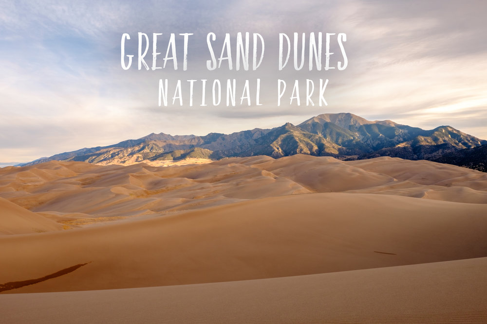 Park 47/59: Great Sand Dunes National Park in Colorado