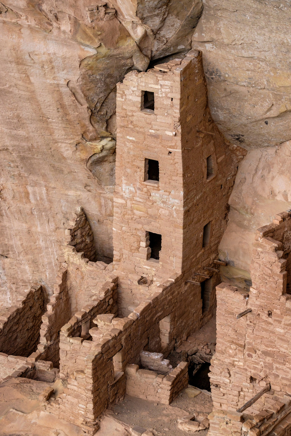 The 26-foot Square Tower House at Cliff Palace.