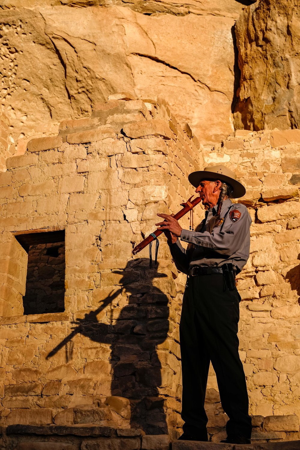 It is a haunting event to listen to the flute being played in this historic place.
