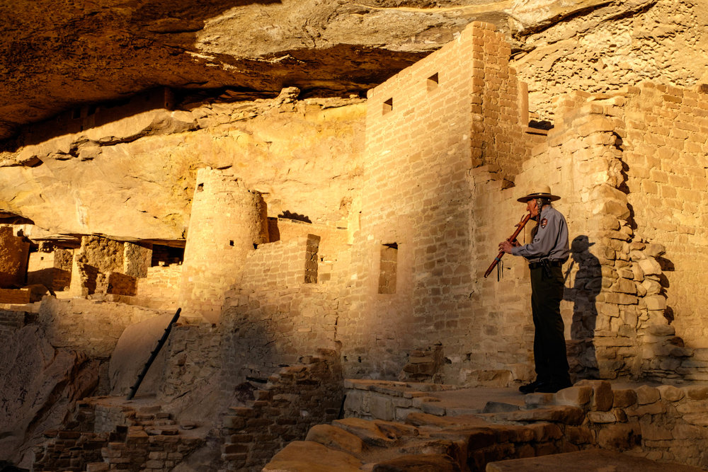 A fitting end to our incredible visit to Mesa Verde National Park!